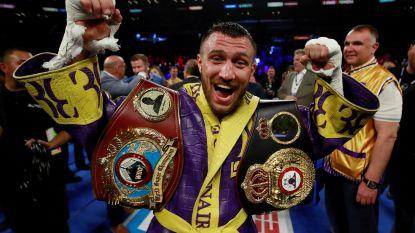 Oekraïner Lomachenko behoudt WBO- en WBA-titel bij lichtgewichten