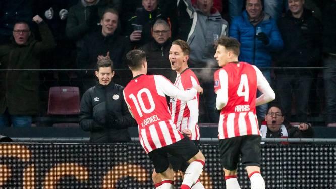 PSV in een zetel naar topper tegen Ajax