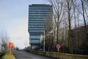 De beroemde toren van imec...Sommigen vinden het een echt 'landmark' voor Leuven, anderen vinden het dan weer een miskleun.