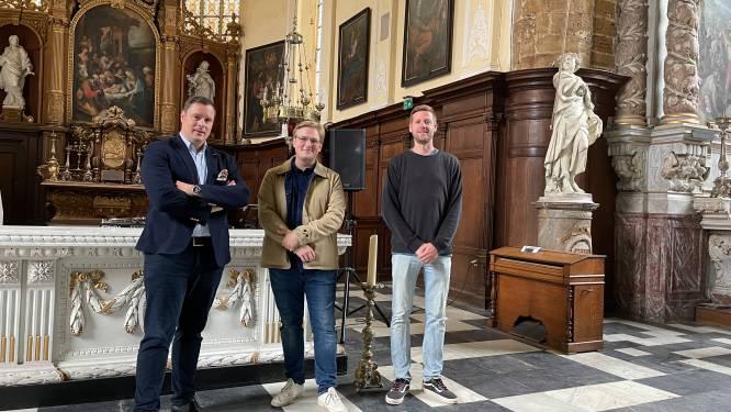 """Stad Diest pakt uit met eigenzinnig stadsfestival om erfgoedlocaties in de kijker te zetten: """"de kerk wordt een rocktempel"""""""