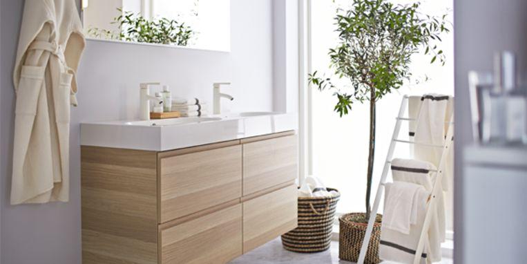 Maak van je badkamer een zen plek libelle for Badkamer zen