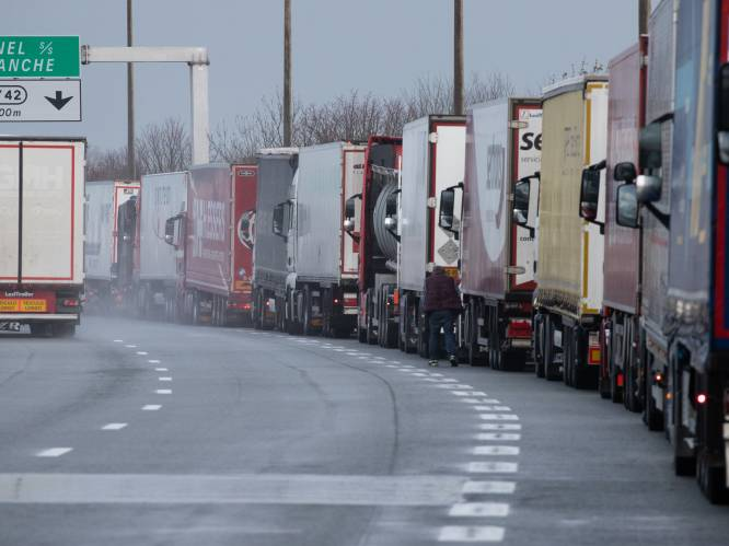 Nu trucks massaal in de file staan richting Calais: hoe groot wordt de brexitchaos?