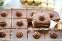 Romig dessert met Ferrero Rocher