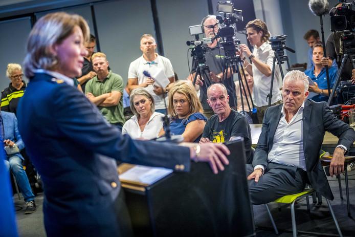 De persconferentie over de zaak-Nicky Verstappen vanochtend.