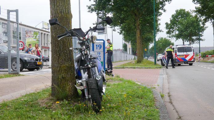 Het ongeluk in Veenendaal.