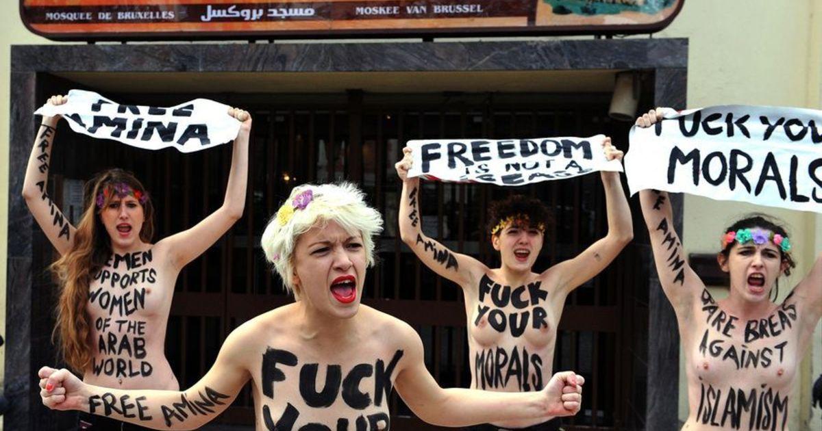 femen protest louvre - photo #42