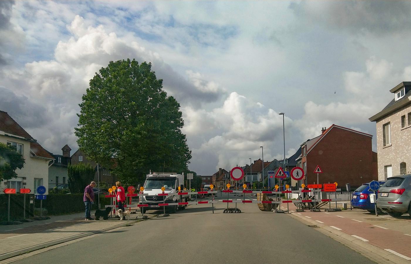 De Lepelhoekstraat in Sint-Niklaas.