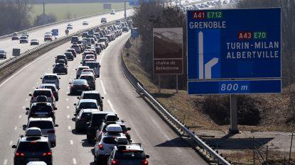 Begin krokusvakantie zware dobber op Europese wegen