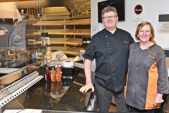 Bakkerij Frimout ging open op 16 maart 1985. Eerst in de kleine bakkerij van wijlen Marcel Bonduelle.