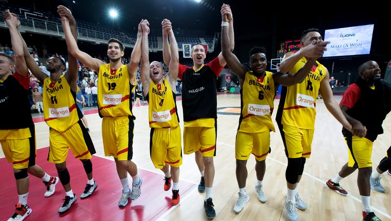 De Belgian Lions kennen hun tegenstanders op het komende EK Beeld BELGA