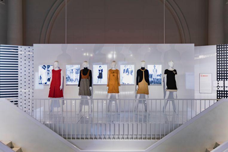 De Mary Quant-tentoonstelling in het Londense Victoria & Albert Museum Beeld Victoria & Albert Museum