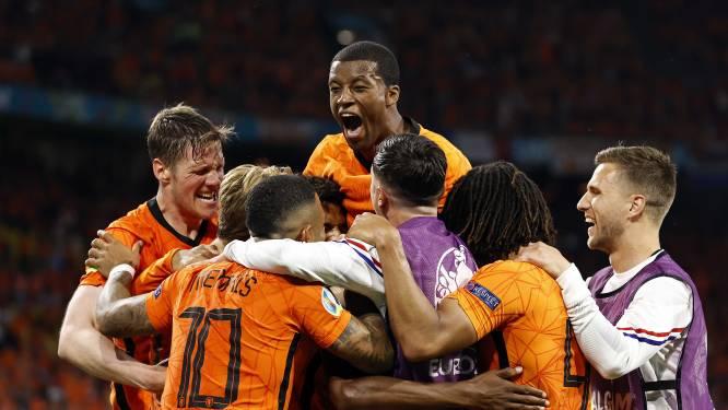 """Noorderburen zien knuffelfactor bij Oranje: """"Aké en De Vrij spelen piano, Frenkie is de olijke buurjongen en Dumfries is ontwapenend"""""""