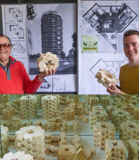 'Legoblokken' stapelen tot villa of flat om woningnood op te lossen