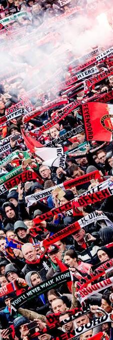 Huldiging van kampioen Feyenoord op maandag, schaal naar de Kuip