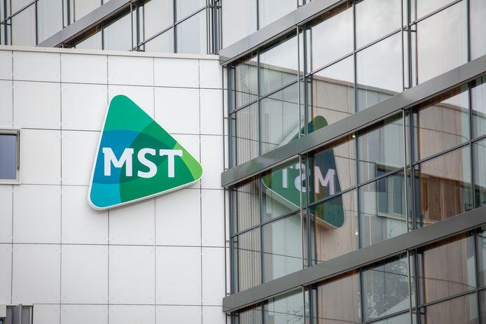 De hoofdvestiging van het ziekenhuis Medisch Spectrum Twente (MST) aan het Koningsplein in Enschede.