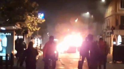 VIDEO: Jongeren gaan stevig in de clinch met politie na verlies Marseille in Europa League-finale