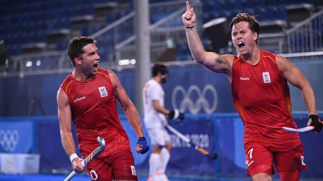 Red Lions zetten scheve situatie recht tegen Spanje na controversiële tegengoal en zitten in halve finales