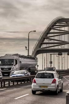 Transporteur kan fluiten naar compensatie na afsluiting Merwedebrug