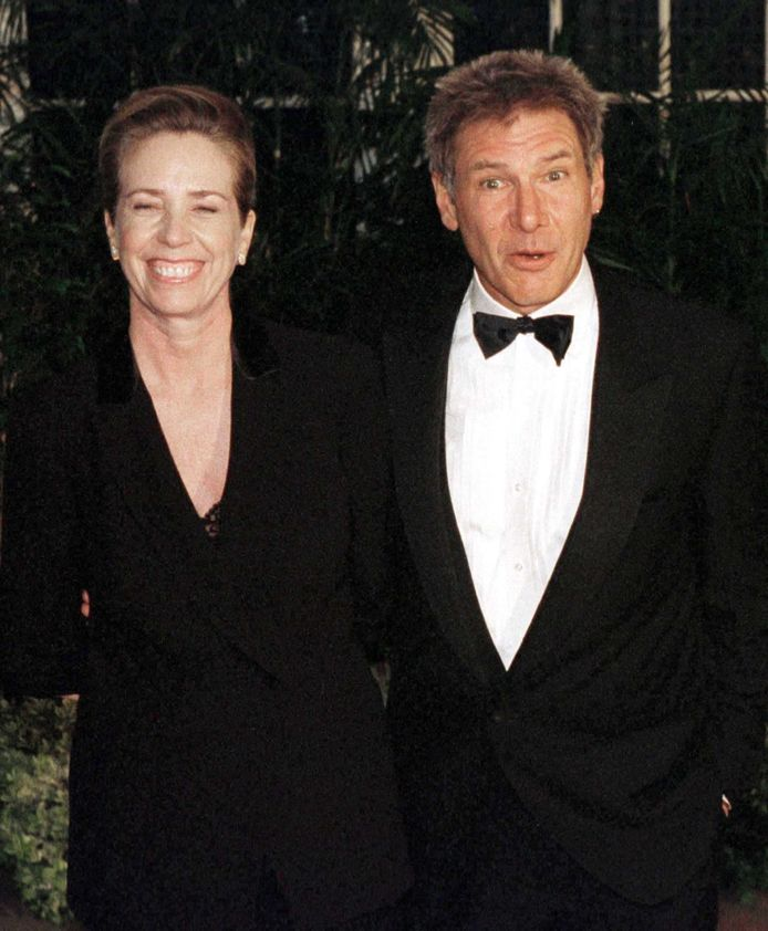 Harrison Ford en Melissa Mathison.