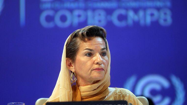 VN-klimaatchef Christiana Figueres. Beeld AP