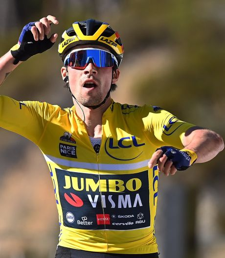 Primoz Roglic remporte la septième étape de Paris-Nice
