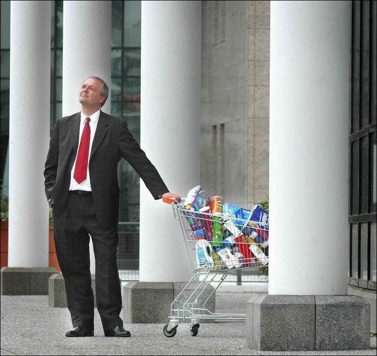 Paul Polman, ceo van Unilever.  Beeld Raymond Rutting / de Volkskrant