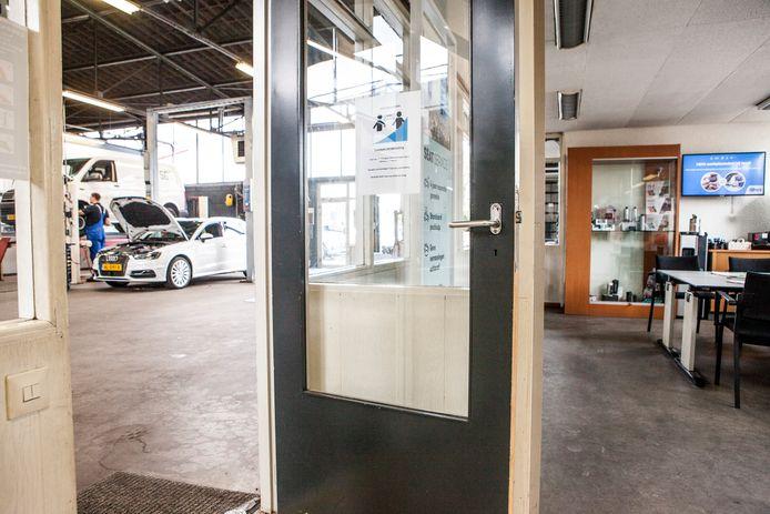 Showrooms en werkplaatsen lenen zich uitstekend voor een 1,5 meterwerkwijze.