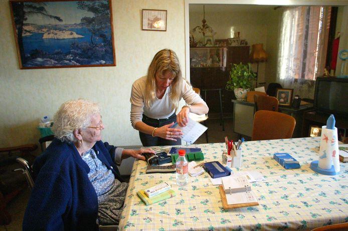 Aide-ménagère à domicile (photo d'illustration)