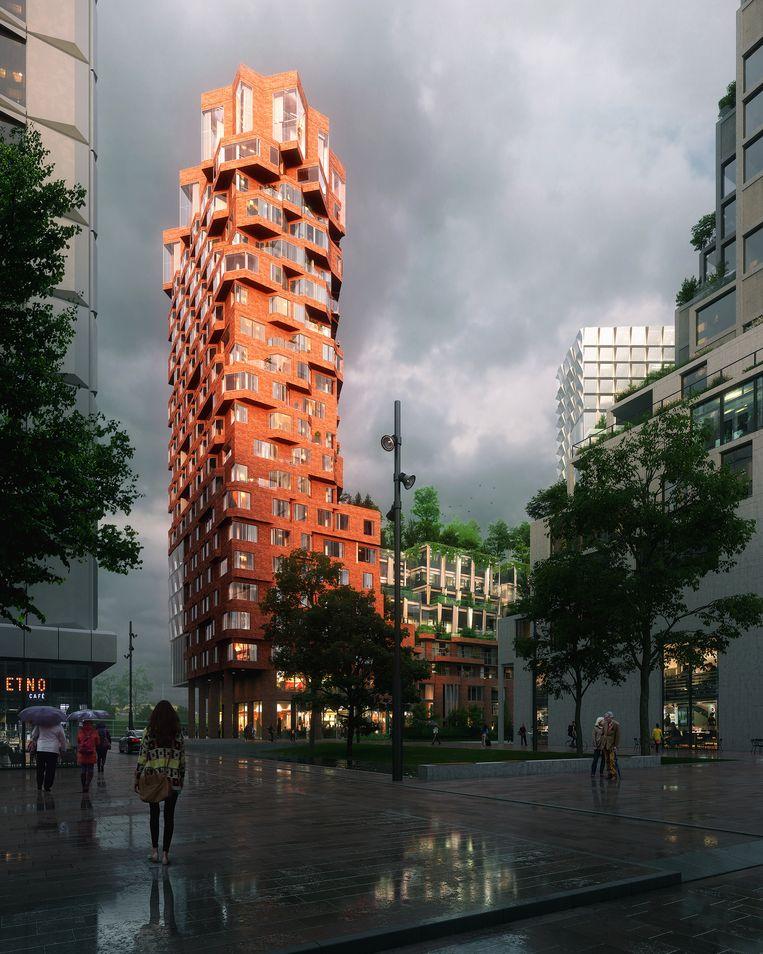 In De Puls komt onder andere een bioscoop. Beeld WAX Architectural visualizations