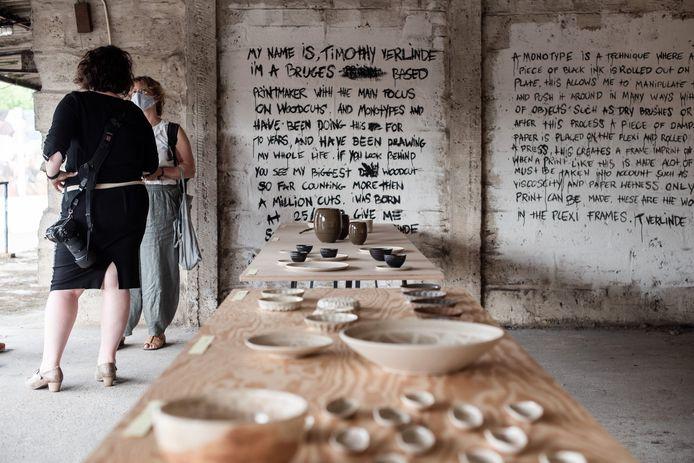 Het servies van fijnstof in Brugge