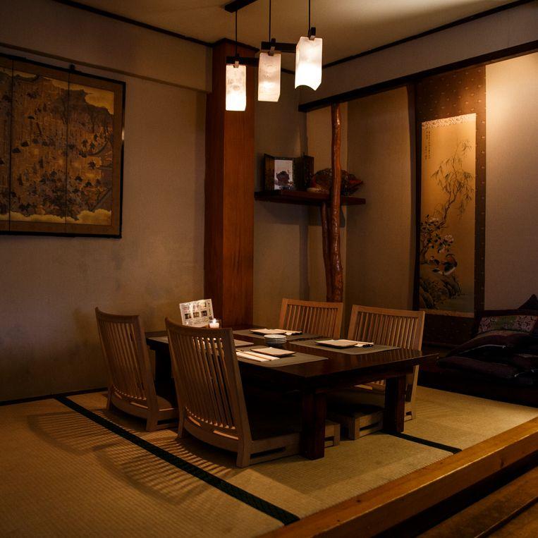 Het Japanse restaurant Akitsu. Beeld Carly Wollaert