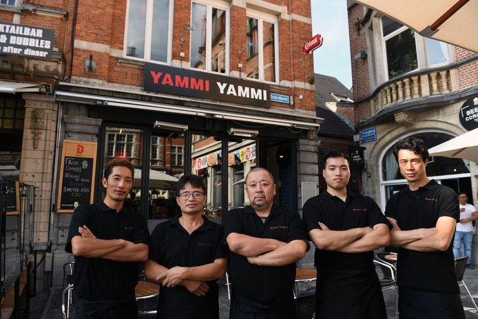 Yammi Yammi is een nieuwe Japanse zaak op de Oude Markt in Leuven.