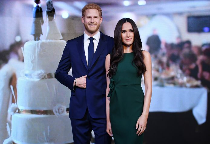 Meghan en Harry in Britse Madame Tussauds