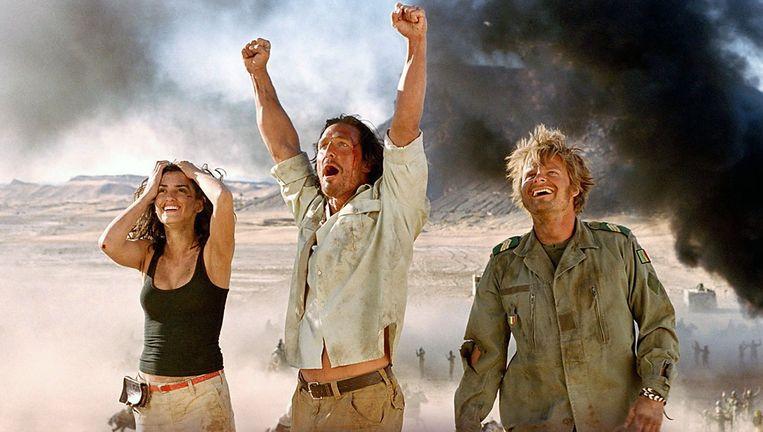 Matthew McConaughey in Sahara. Beeld geen