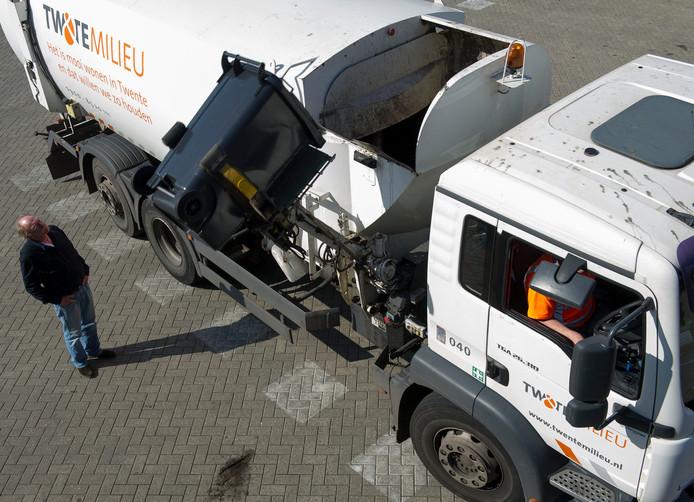 In Oost-Boswinkel komt de vuilniswagen na deze week niet meer langs voor grijze vuilnisbakken.
