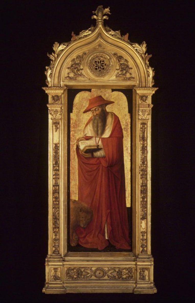 Donato de' Bardi, altaarstuk van de heilige Hiëronymus (1445-1450). Dit is een van de kunstwerken die het Brooklyn Museum verkoopt.   Beeld Alamy Stock Photo