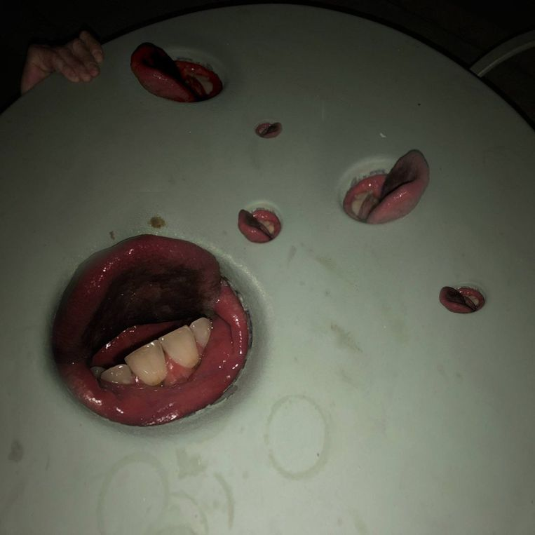'Year of the Snitch' van Death Grips. Beeld rv