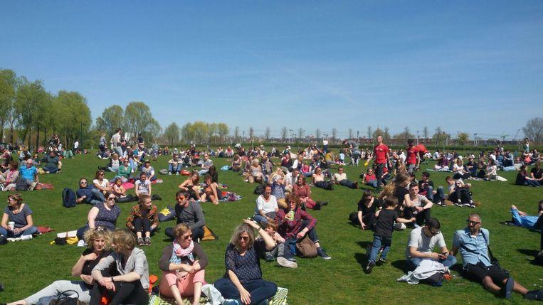 Het Bevrijdingsfestival in het Westerpark Beeld Pim Brasser