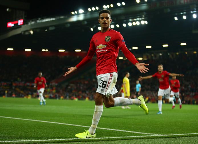 Mason Greenwood was tegen Astana de matchwinner voor Manchester United (1-0).