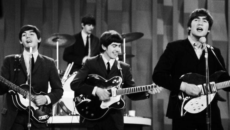 Archieffoto van The Beatles. Beeld AP