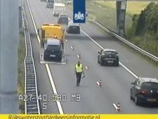 Vertraging op A27 door ongeluk bij knooppunt Gorinchem