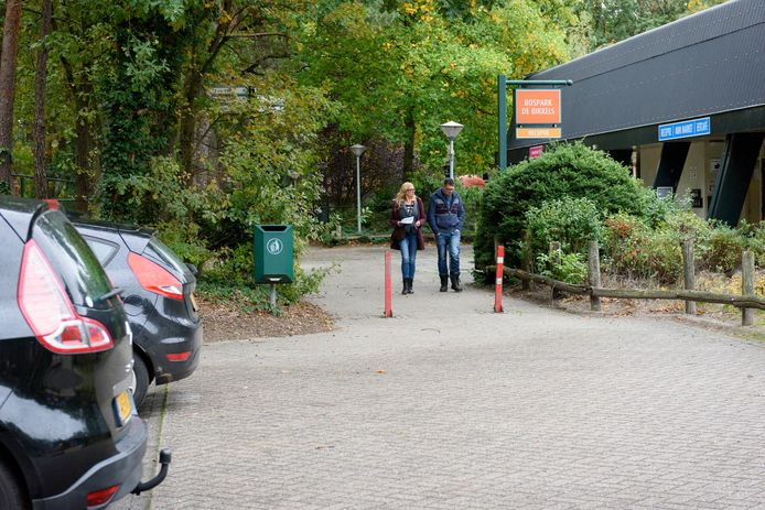 Het Vlierdense bospark de Bikkels.