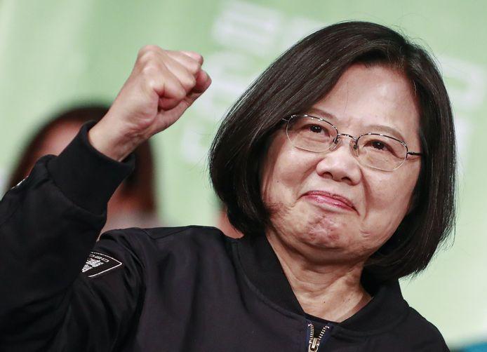 President Tsai Ing-wen van Taiwan.