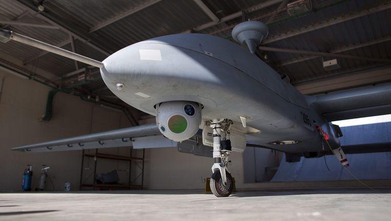 Een onbemande drone met camera. Beeld anp