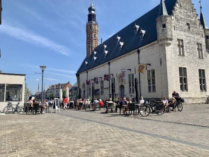 In Herentals kunnen de komende maanden tal van terrassen verschijnen.