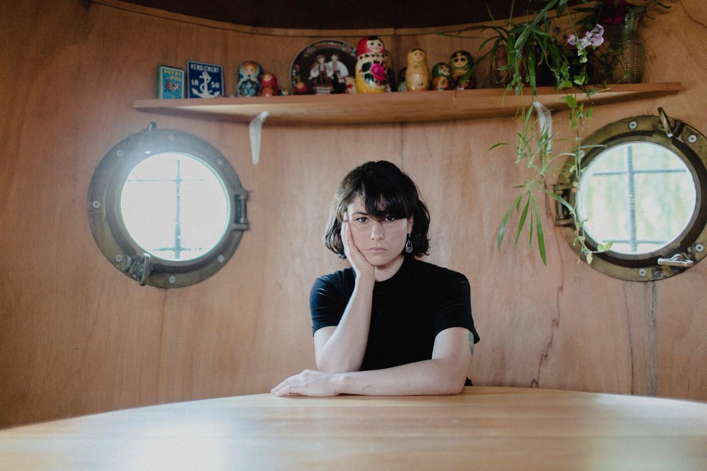 Lara Gasparotto: 'Ze noemden me vroeger 'het ruwe kind'. Ik zat voortdurend onder de verfspetters, mijn prille kunstwerkjes waren altijd slonzig.' Beeld Daniil Lavrovski