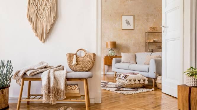 Tijdloos en rustgevend: zo integreer je natuurlijke materialen in je interieur