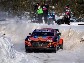 Ott Tänak pakt de overwinning, Thierry Neuville eindigt als derde in Arctic Rally