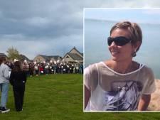 Un lâcher de ballons émouvant en hommage à Vinciane, tuée de plusieurs coups de couteau à Soumagne