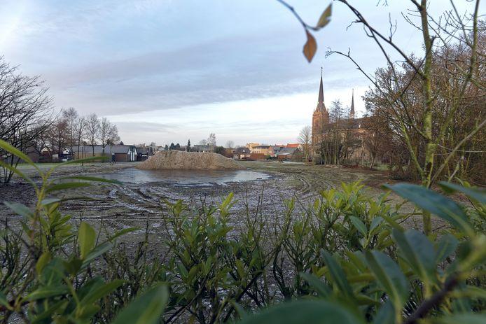De vroegere locatie van basisschool Klim-Op nabij het centrum van Haaren.